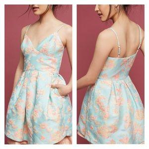 Anthropologie Cressida Floral Dress Fit & Flare